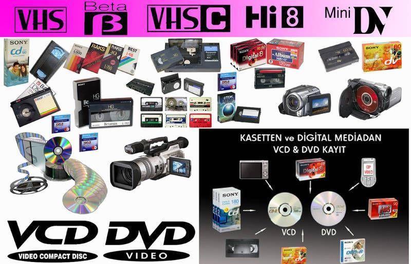 video kaset aktarım